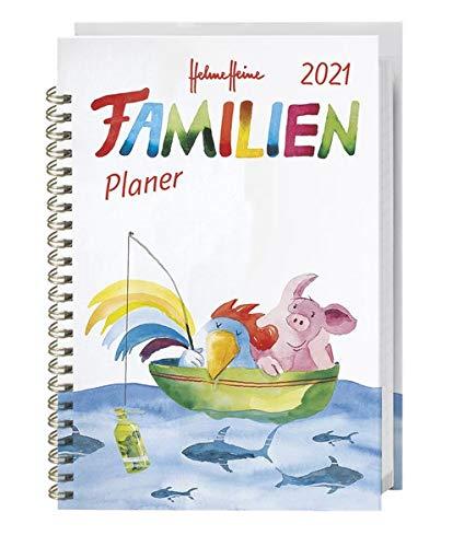 Helme Heine Familienplaner Buch A5 - Kalender 2021