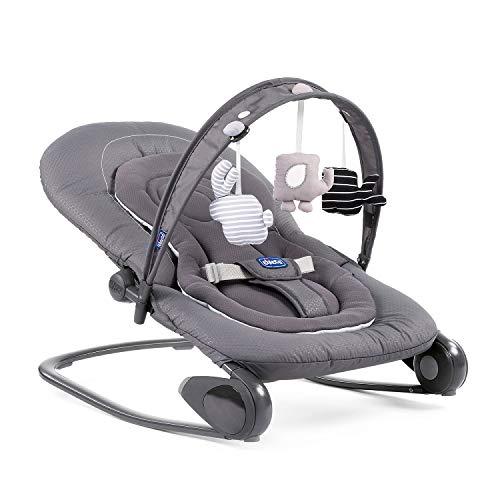 Chicco Hopplà Babywippe von Geburt bis 18 kg, Für Neugeborene oder Kleinkinder, Babyschaukel und Babystuhl,...