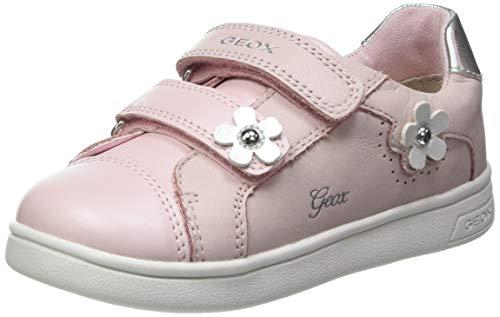 Geox B DJROCK Girl C Sneaker, LT Rose, 26 EU