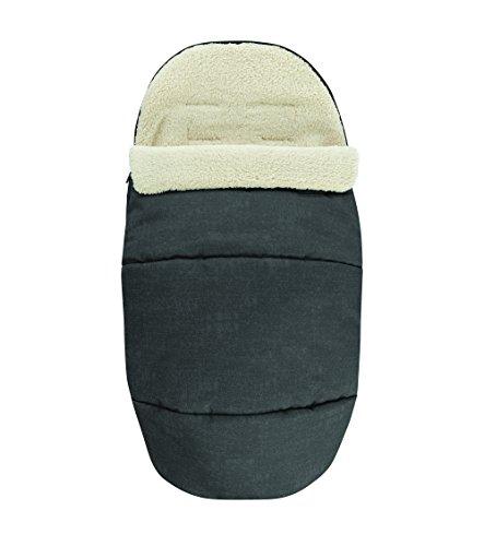 Maxi-Cosi kuschelig weicher 2-in-1 Fußsack, Winter-Auflage geeignet für alle Kinderwagen, auch als...