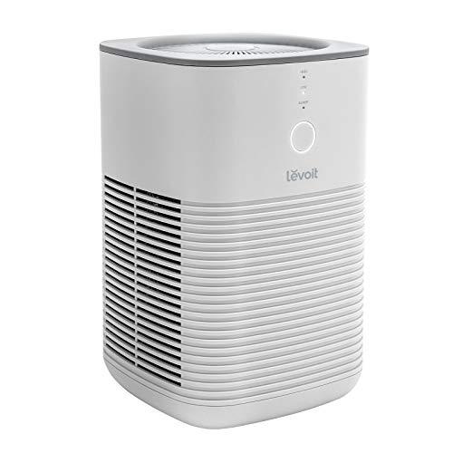 Levoit Luftreiniger Allergiker Raucherzimmer, Air Purifier mit dualen H13 HEPA Aktivkohlefilter entfernt...