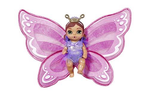 Zapf Creation 904336 BABY born Surprise Wings Serie 5, Mini Püppchen mit Flügeln und Trink- und...