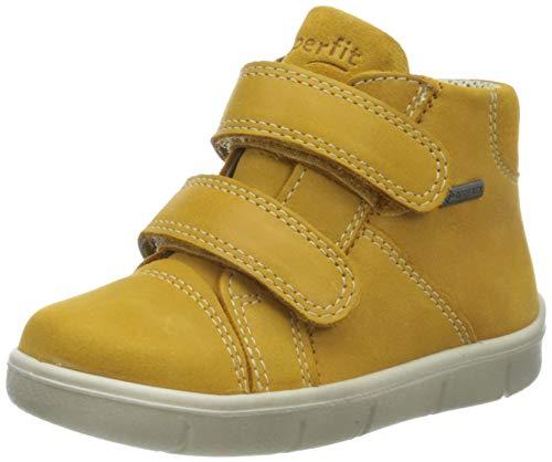 Superfit Baby Jungen ULLI Sneaker, (Gelb 60), 23 EU