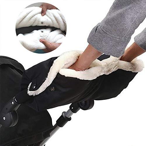 trounistro Handwärme Kinderwagen,Handschuhe Kinderwagen Handmuff Kinderwagen Handschuhe mit warme Fleece und...