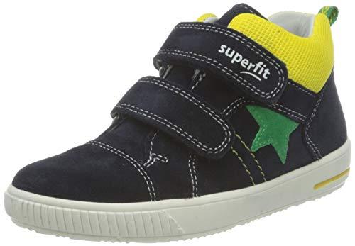 Superfit Moppy Sneaker, BLAU/GELB, 27 EU