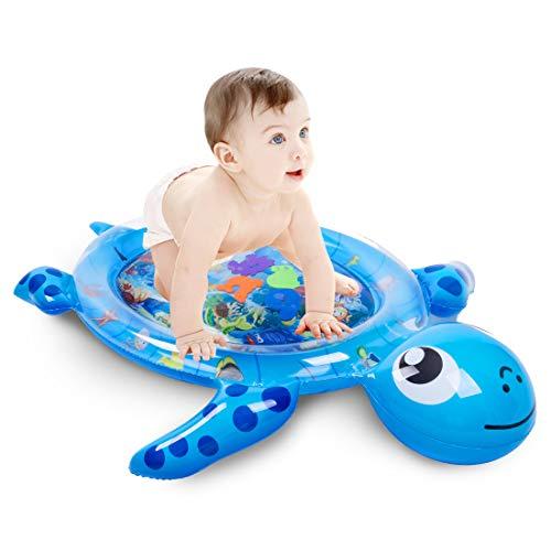 Fanmad Wassermatte Baby Wasserspielmatte Stimulieren Sie das Wachstum Ihres Babys Babyspielzeug 3 bis 24...