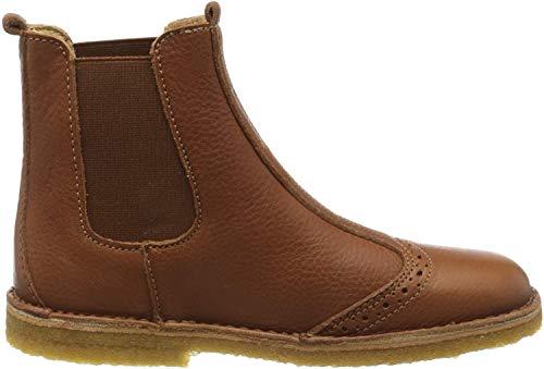 Bisgaard Unisex-Kinder Nori Chelsea Boots, Braun (Cognac 500), 30 EU