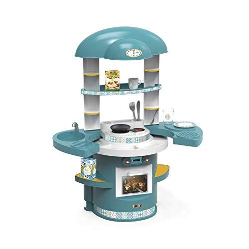 Kinderküche aus Kunststoff mit Zubehör