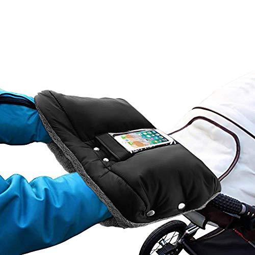 Windabweisend und Atmungsaktiv Pink 20 * 40cm Kinderwagen Handw/ärmer Extra-Dicke Warme Kinderwagen Handschuhe Zerlegbare Kinderwagenmuff Kinderwagen Zubeh/ör f/ür Eltern und Betreuer
