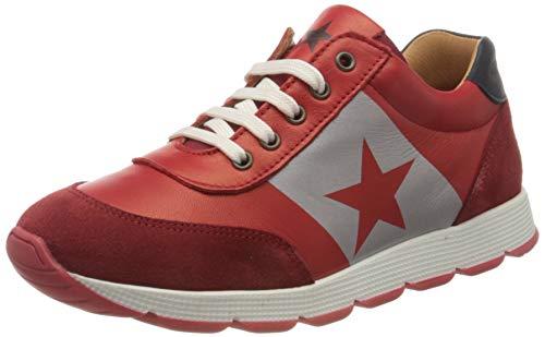Bisgaard Vitus lace Shoe, red, 37 EU