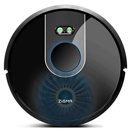 Saugroboter Zigma Saug- und Wischroboter, WLAN Staubsauger Roboter mit intelligenter Navigation, mit Siri,...