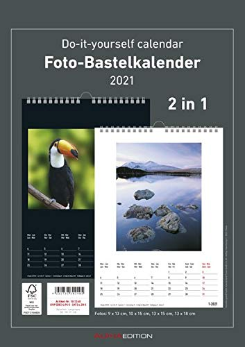 Foto-Bastelkalender Family 2021