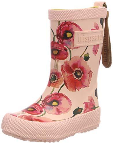Bisgaard Mädchen Rubber Boot-Fashion Gummistiefel, Pink (Nude Flowers 179), 34 EU