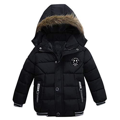 aiyvi Kinderjacke,1-5 Jahre Art und Weisemantel Kinderwinter Jacken Mantel Jungen Jacken warme mit Kapuze...