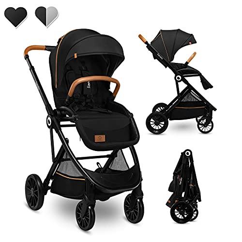 Lionelo Dani Kinderwagen Buggy bis zu 15 kg vorwärts- und rückwärtsgerichteter Sitz Liegeposition...