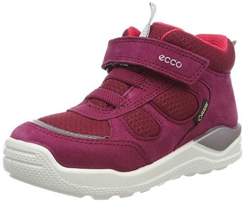 ECCO Mädchen Urban Mini Hohe Sneaker Mid-cut Boot, Pink (Red Plum 1293), 22 EU