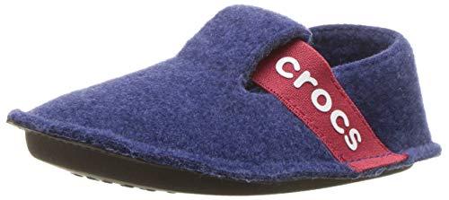 crocs Unisex-Kinder Classic Slipper Kids Hausschuhe, Blau (Cerulean Blue), 27/28 EU
