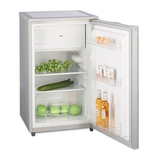 Kühlschrank mit Gefrierfach A++ (90L) 4-Sterne-Gefrierfach (-18 °C) LED-Innenbeleuchtung ✓ Abtauautomatik...