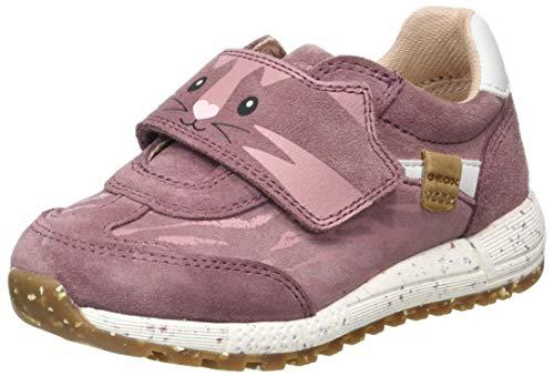 Geox Baby-Mädchen B ALBEN Girl B Sneaker, Rosa (Rose Smoke), 23 EU