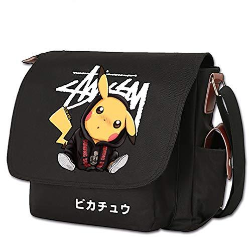 ZZTX BAGGOS Anime Umhängetasche Canvas Messenger Bag Reisetasche Tasche Cartoon Umhängetaschen Spiel Logo...