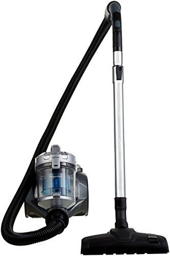 AmazonBasics – Zylinder-Staubsauger, leistungsstark, kompakt und leicht, ohne Beutel, für Hart- und...
