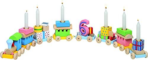 Geburtstagszug mit Zahlen 1-6