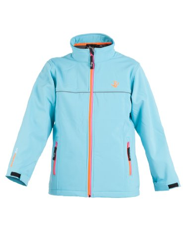 Ultrakidz Kinder Softshelljacke Lollipop, Blau, 92/98 (2 Jahre), 1300-161