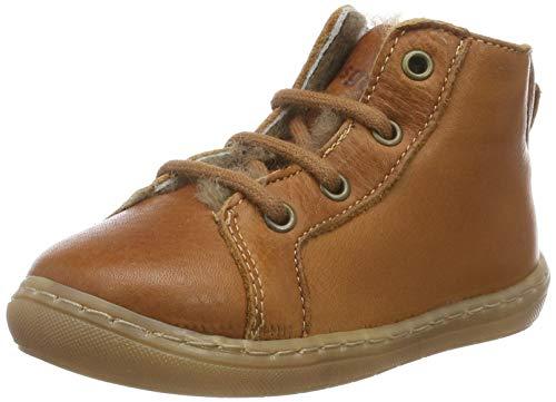 Bisgaard Unisex Baby Vibs Sneaker, Braun (Cognac 500), 21 EU