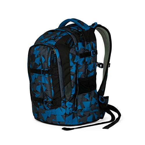 Satch Uni Schulrucksack, blau, SAT-SIN-002-9D6