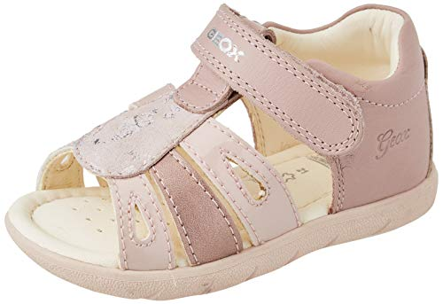 Geox Baby-Mädchen ALUL Girl B Sport Sandal, LT Rose, 23 EU