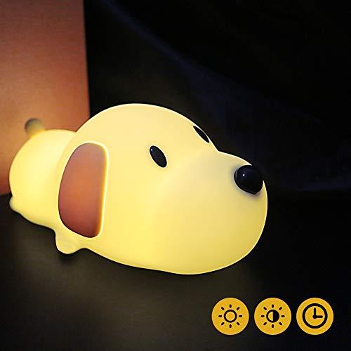 LED Nachtlicht Kinder Baby Nachtlampe mit Touch Schalter Tragbare Silikon Nachtlichter für Babyzimmer,...