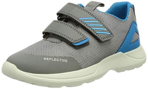 Superfit Baby Jungen RUSH Sneaker, Grau (Hellgrau/Blau 25), 26 EU