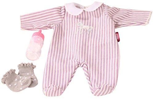 Götz 3402991 Kombination Baby-Einhorn - Puppenbekleidung-Set Gr. S - 4-teiliges Bekleidungs- und Zubehörset...