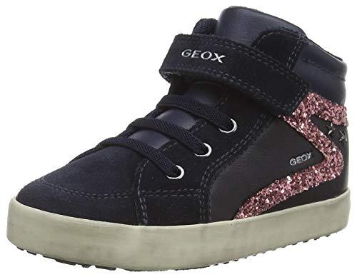 Geox Baby-Mädchen B Kilwi Girl F Sneaker, (Dk Navy), 23 EU
