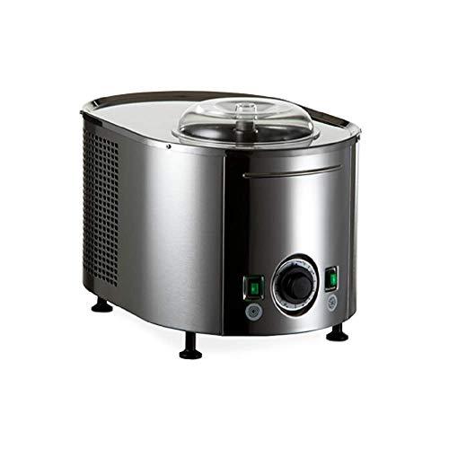 Eismaschine Musso Lussino MINI 4080 -Eiscrememaschine aus Edelstahl mit Kompressor - Unverwüstlich und...