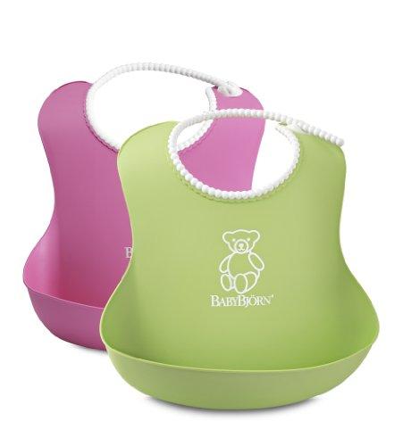 Baby-Lätzchen mit Auffangmulde (einfache Reinigung)