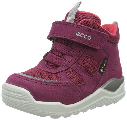 Ecco Baby Mädchen URBANMINI Sneaker, Violett (Red Plum/Teaberry 51799), 30 EU