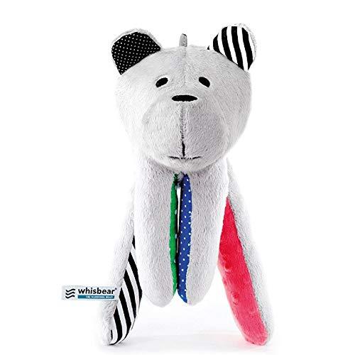 Whisbear - der summende Bär, Ein- und Durchschlafhilfe für Babys und Eltern, Stofftier mit integriertem...