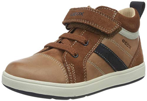 Geox Baby-Jungen B BIGLIA Boy A First Walker Shoe, Blau (Brandy/Navy), 26 EU