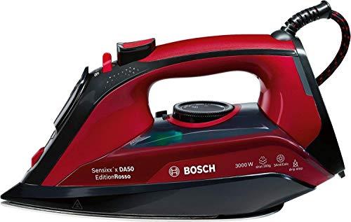 Bosch Dampfbügeleisen TDA503001P,sparsame eco Dampfstufe, 200g Dampfstoß, 3fach-Entkalkung, 3.000 Watt,...