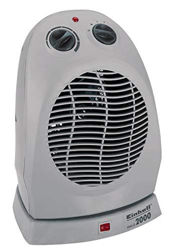 Einhell Heizlüfter HKLO 2000 (bis 2000 Watt, 90° Schwenkfunktion, Thermostatregler, 2 Heizstufen,...