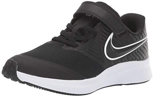 Nike Star Runner 2 (PSV) Laufschuh, Schwarz Black White Black Volt 001, 33 EU