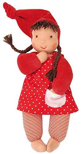 Käthe Kruse Waldorfpuppe: Stoff-Baby Puppe Schatzi für Kinder ab Geburt