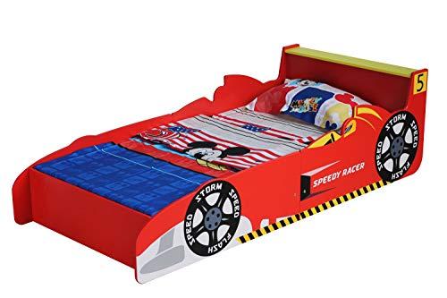 Autobett, Rennauto Bett, Kinderbett, von MCC in einem coolen Design