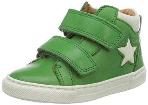 Bisgaard Unisex-Kinder Jacob Hohe Sneaker, Grün (Green 2002), 27 EU