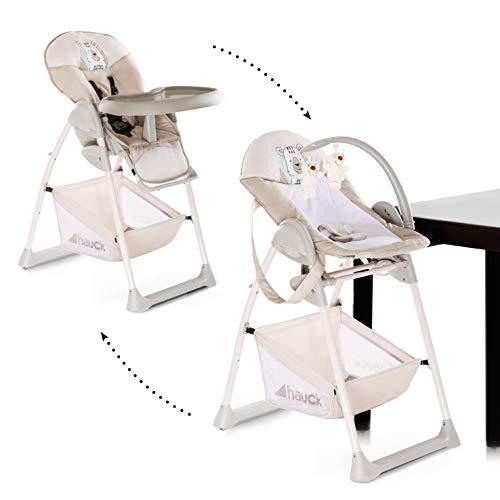 Hauck Sit N Relax Newborn Set – Neugeborenen Aufsatz und Kinderhochstuhl ab Geburt bis 15 kg, mit...