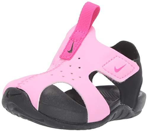 Nike Unisex Baby Sunray Protect 2 (td) Durchgängies Plateau Sandalen, Mehrfarbig (Psychic Pink/Laser...