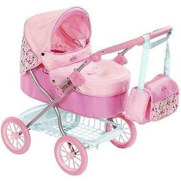 Zapf Creation 825778 Baby Born Roamer Pram
