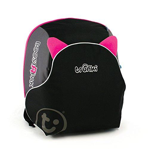 Trunki BoostApak Kinderrucksack mit integriertem Kindersitz Gruppe 2/3 (Pink)