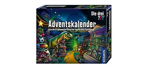 Kosmos 632182 Die drei Adventskalender 2020 Löse die 24 spannenden Rätsel der mysteriösen Spielfiguren,...